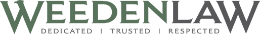 Weeden Law Denver Criminal Defense Attorney Logo